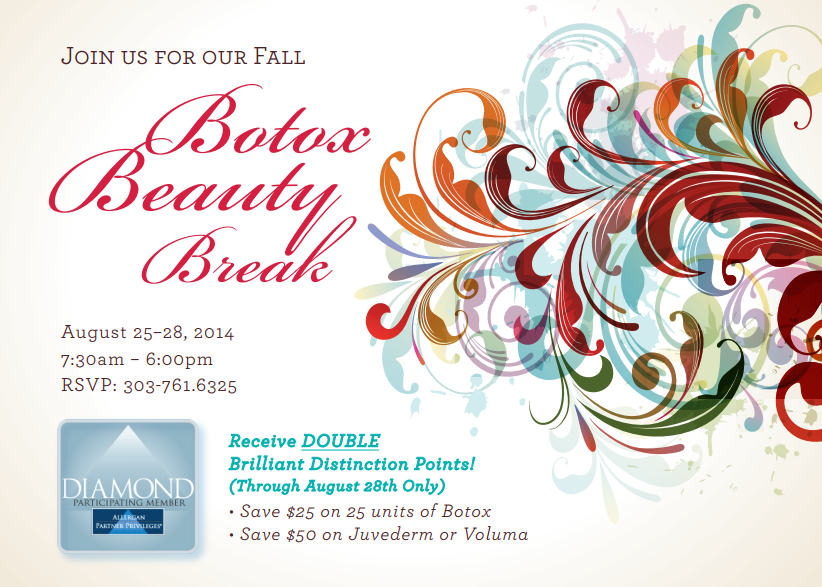 botox event fall