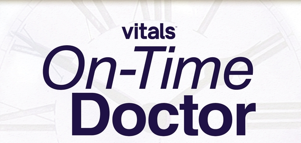 """Your Time Matters to Us! Dr. Asarch Wins Vitals """"On-Time"""" Doctor Award 2014"""