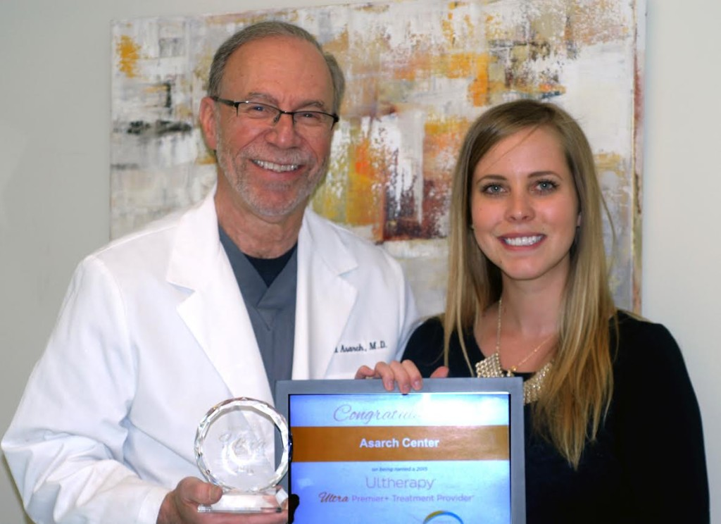 Dr. Asarch Ultherapy Award 2015