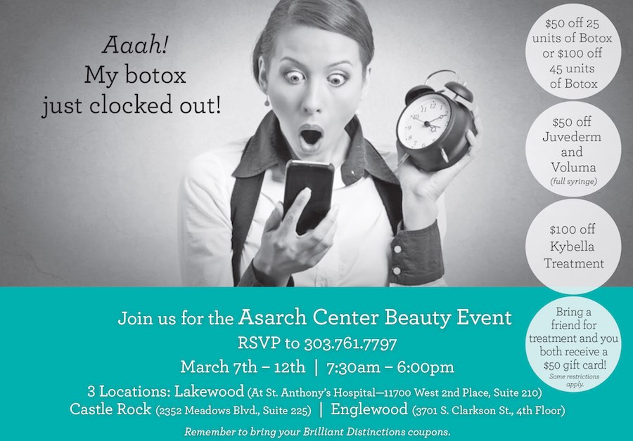 March Botox Beauty Event