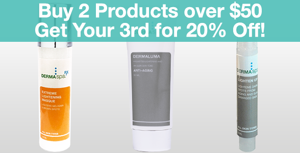 Buy 2 Products over $50 Get Your 3rd for 20% Off!
