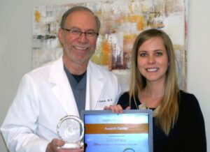 dr. asarch ultherapy award 2015 500x363
