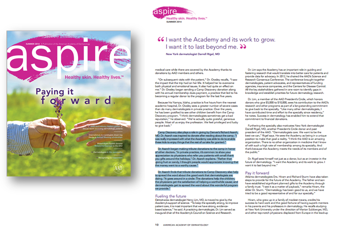 summer issue aspire magazine