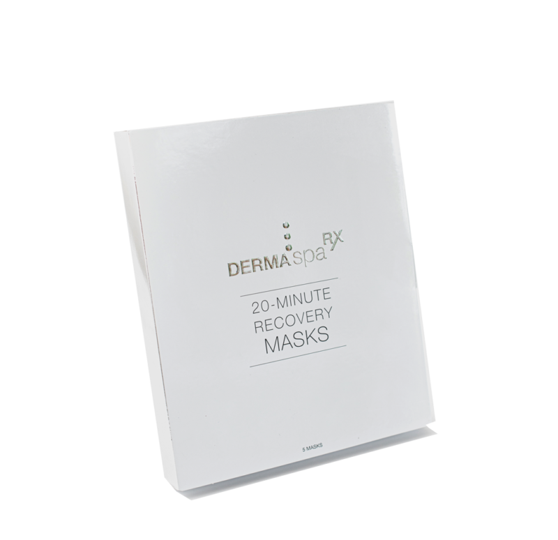 20 minute recovery masks set of 5
